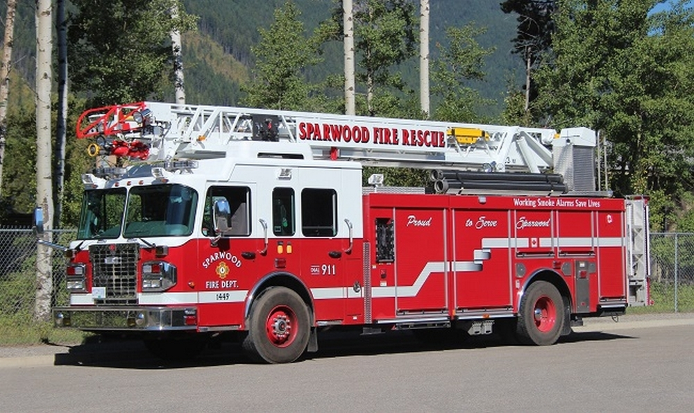 Sparwood fire suspected to be arson
