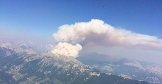 Remote White River wildfire grows to 1226 HA