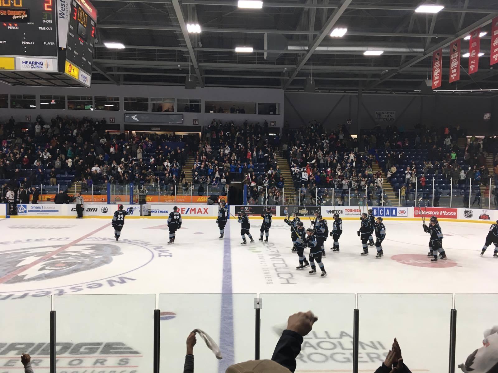 WHL: Kootenay tops Hitmen 3-2 to kickstart new ICE age