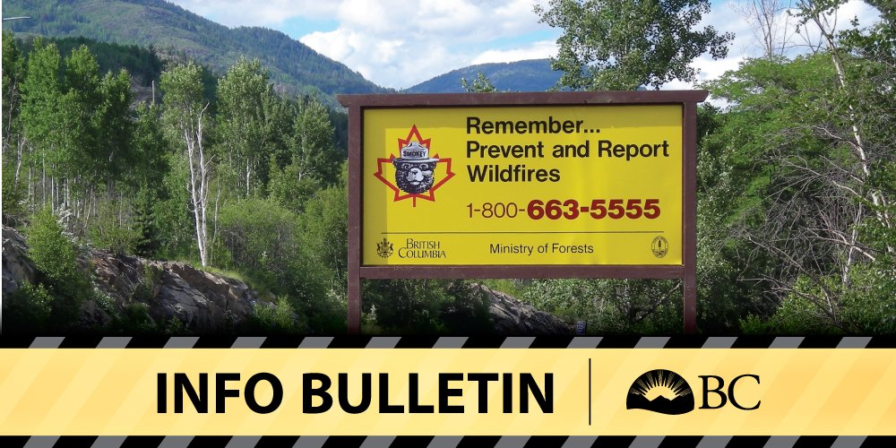 Southeast Fire Centre reminds public of all current restrictions