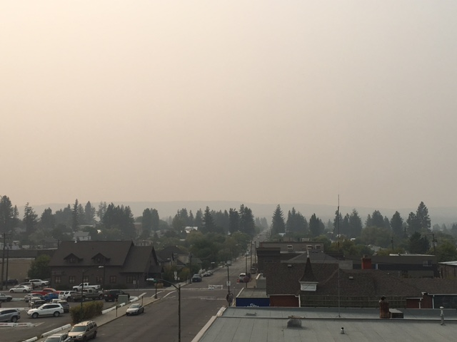Smoke over East Kootenay should decrease this weekend