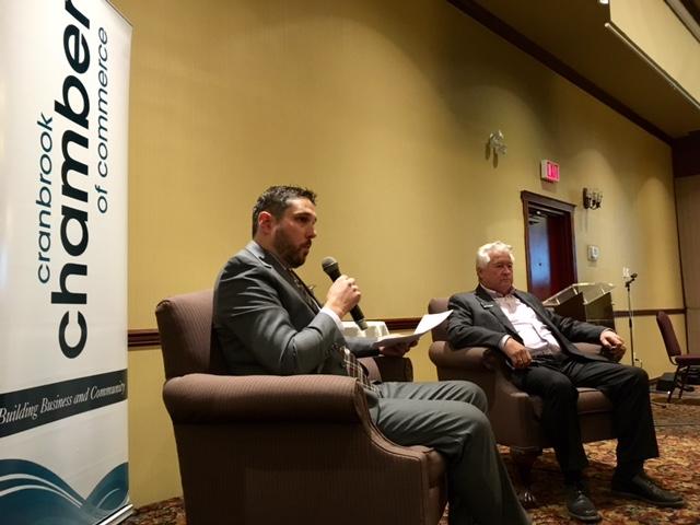 Cranbrook Mayor tells business community he'll seek 2018 reelection