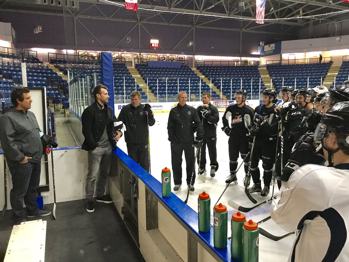 Jarret Stoll says he will always support Kootenay ICE