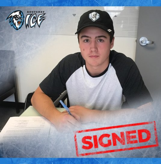 WHL: Kootenay ICE sign forward Evan Thomas