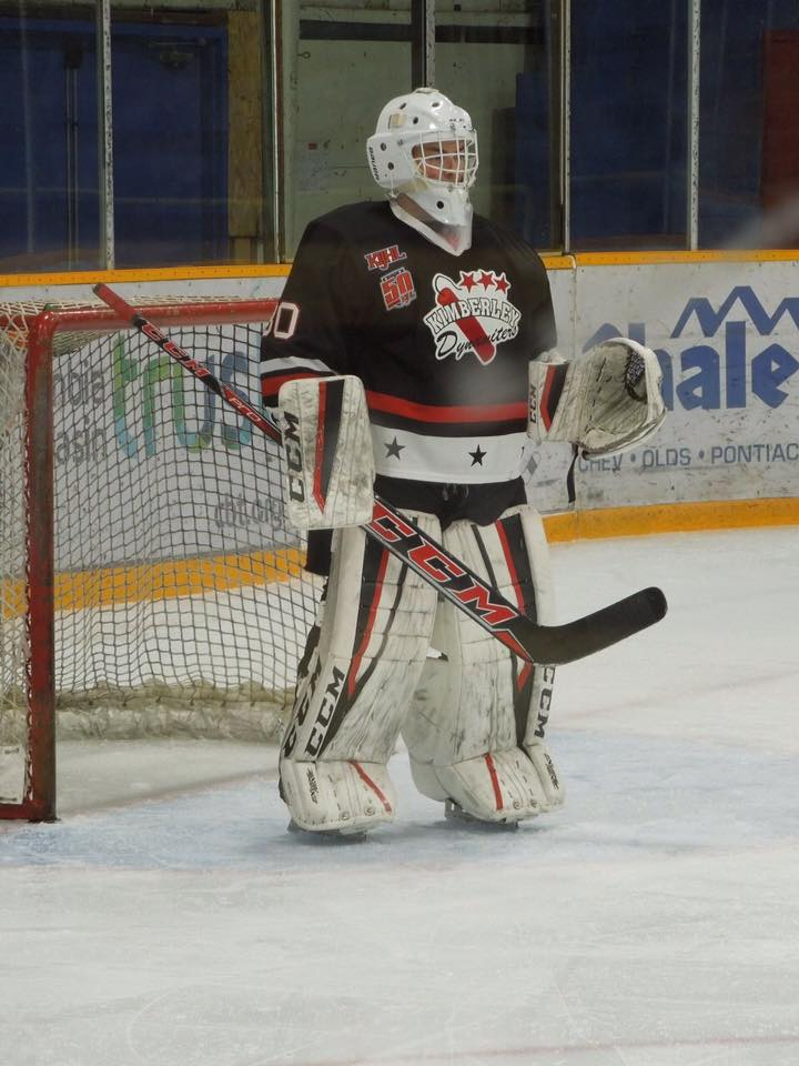 KIJHL: Local netminder Andersen living childhood dream as a Dynamiter