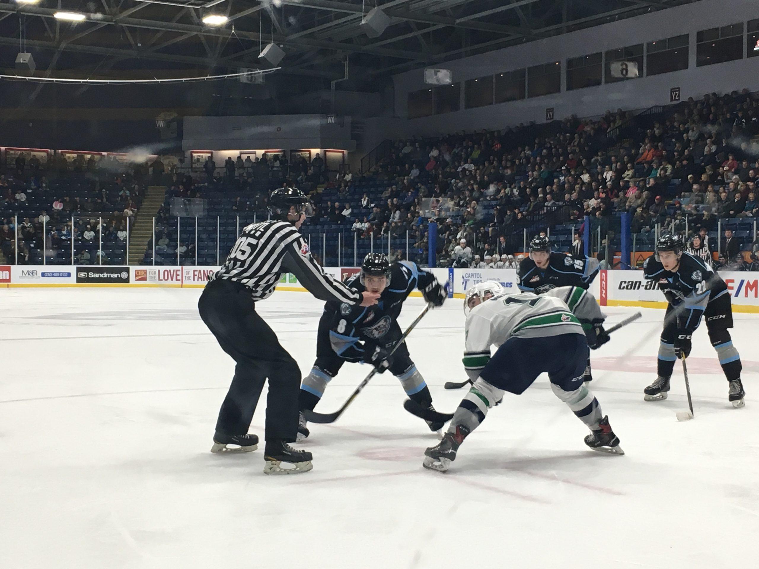 WHL: ICE thrash Thunderbirds 4-2
