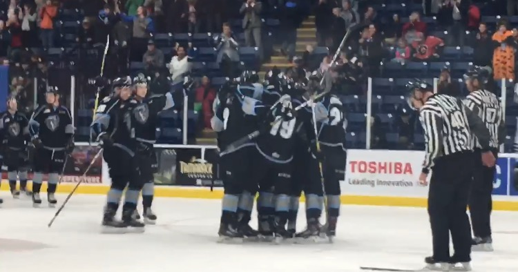 WHL: ICE rock Rebels in OT to secure undefeated weekend