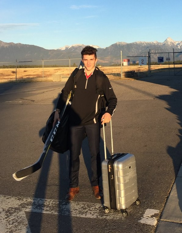 ICE's Krebs takes off for World U-17 Hockey Challenge
