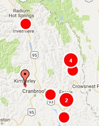 Multiple areas in East Kootenay without power