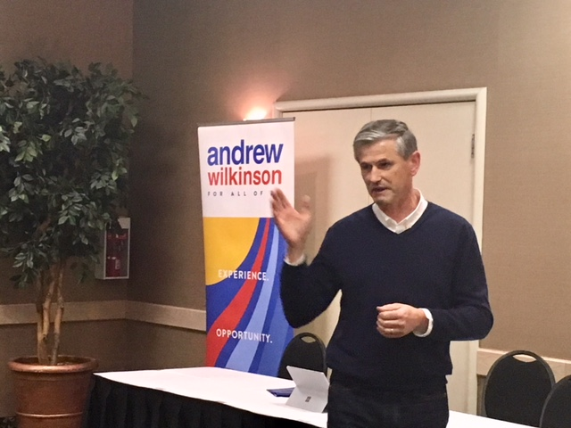 Wilkinson makes pitch to Cranbrook in Liberal leader race
