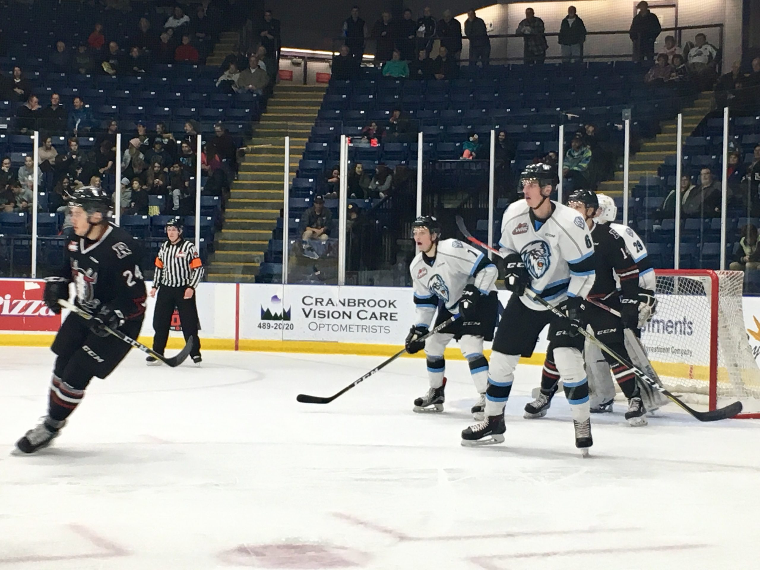 WHL: Pouliot lifts ICE over Rebels in dying minutes
