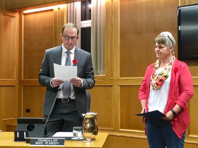 Peabody officially sworn in as Cranbrook City Councillor