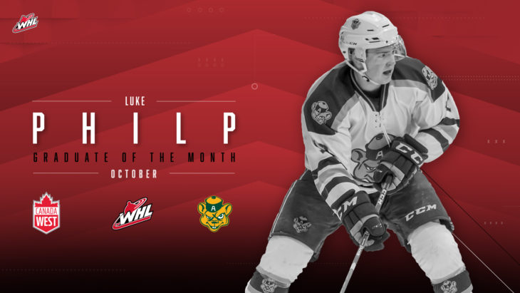 WHL: ICE alumn Philp earns WHL Grad of the Month