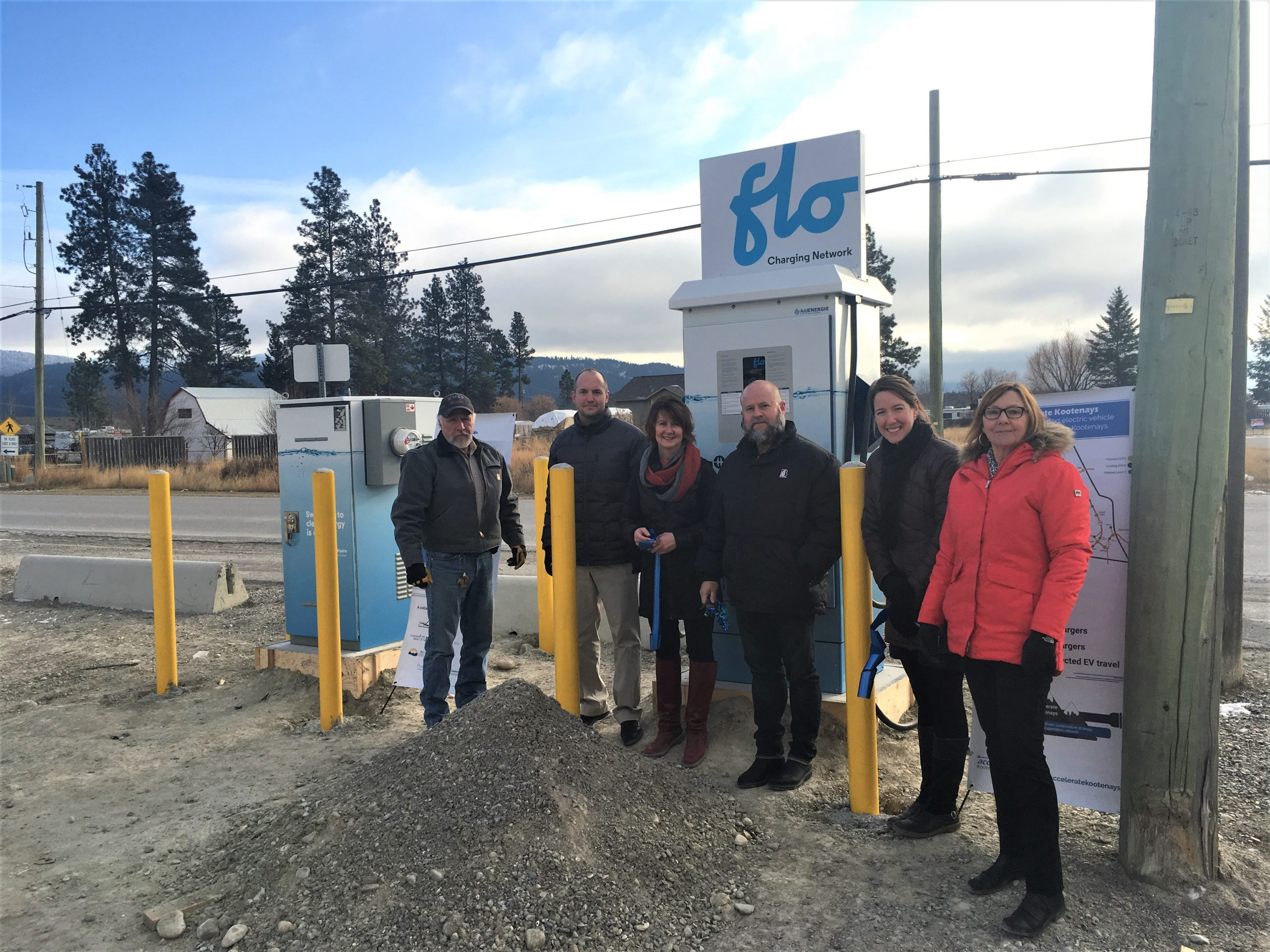 """Two """"critical"""" EV chargers added to Kootenay network"""