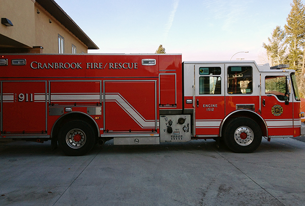 New Cranrook rural fire agreement consistent for taxpayers: RDEK