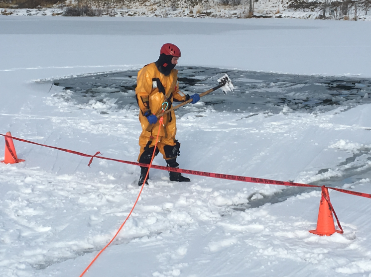 Cranbrook Fire to conduct ice rescue training