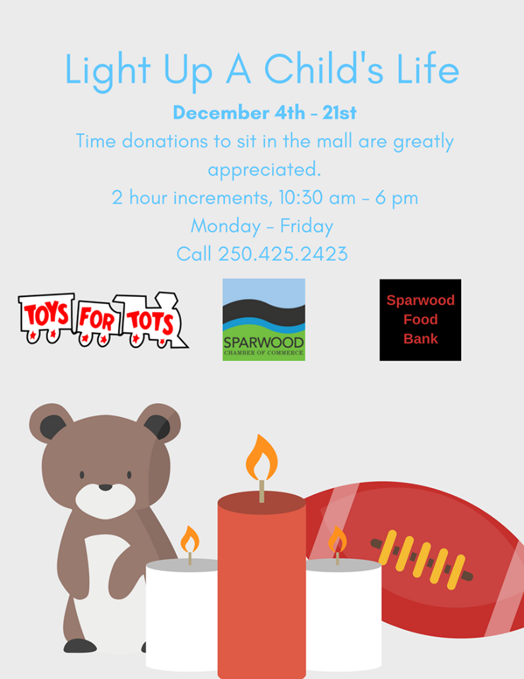 Light up a Child's Life Campaign underway in Sparwood
