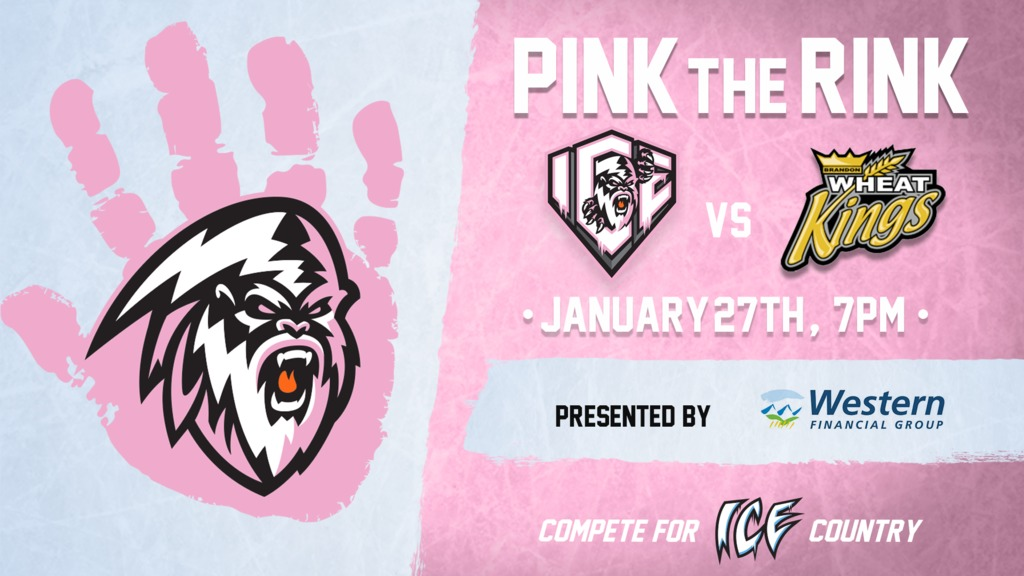 "WHL: ICE announce ""Pink the Rink"" anti-bullying night"