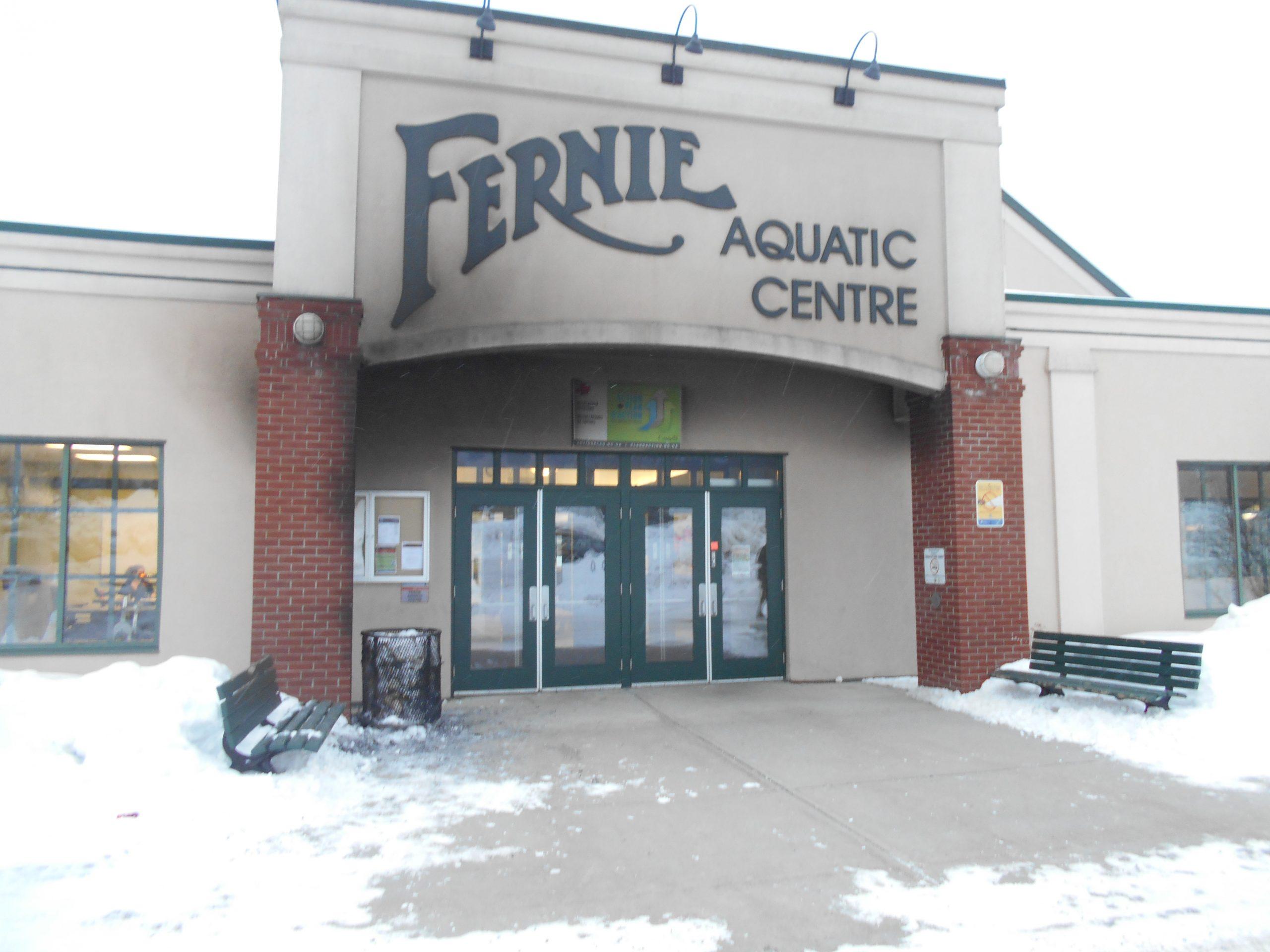 RCMP investigating suspicious Fernie Recreation Centre fire