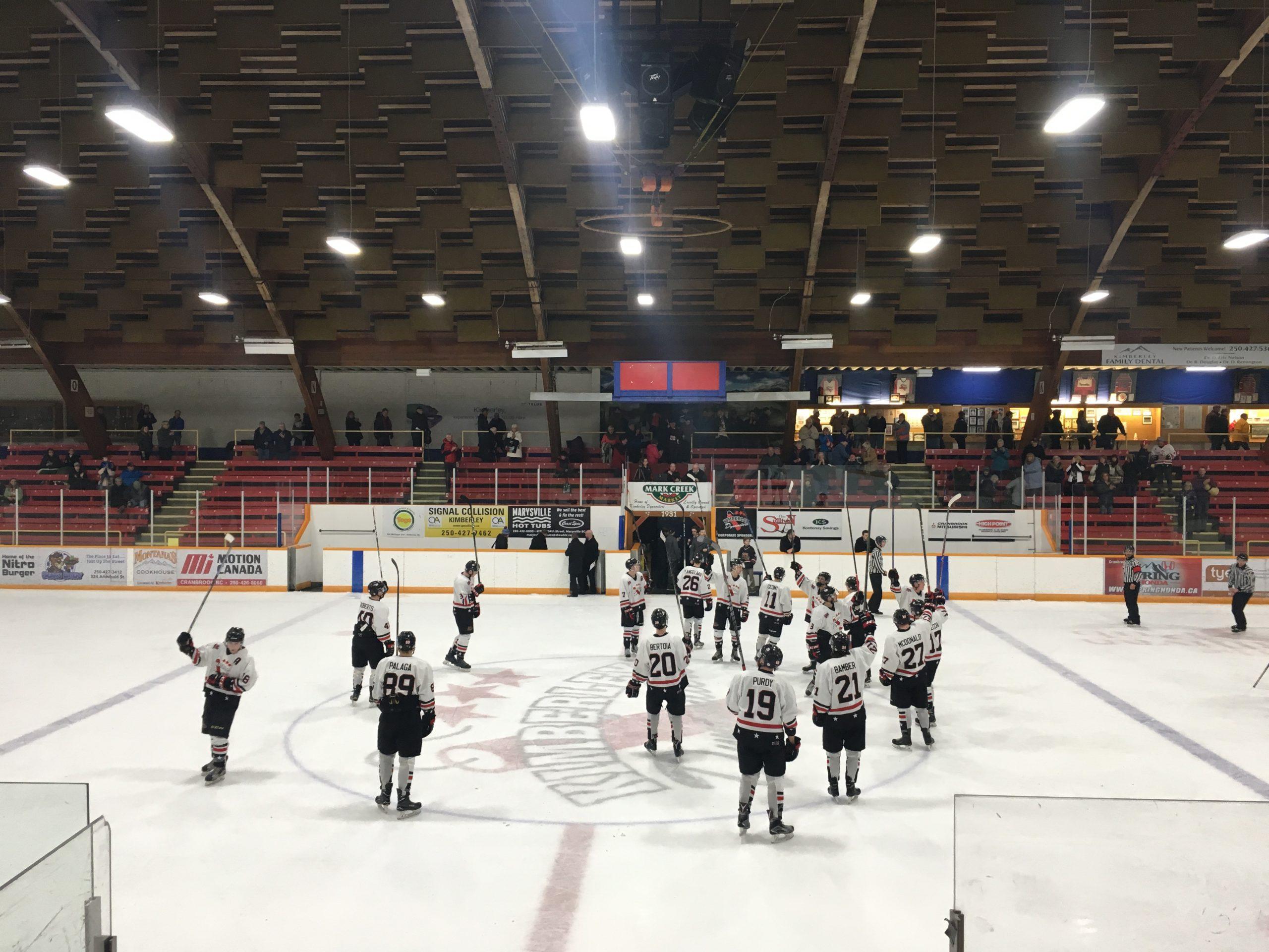 KIJHL: Dynamiters dominate in division final opener