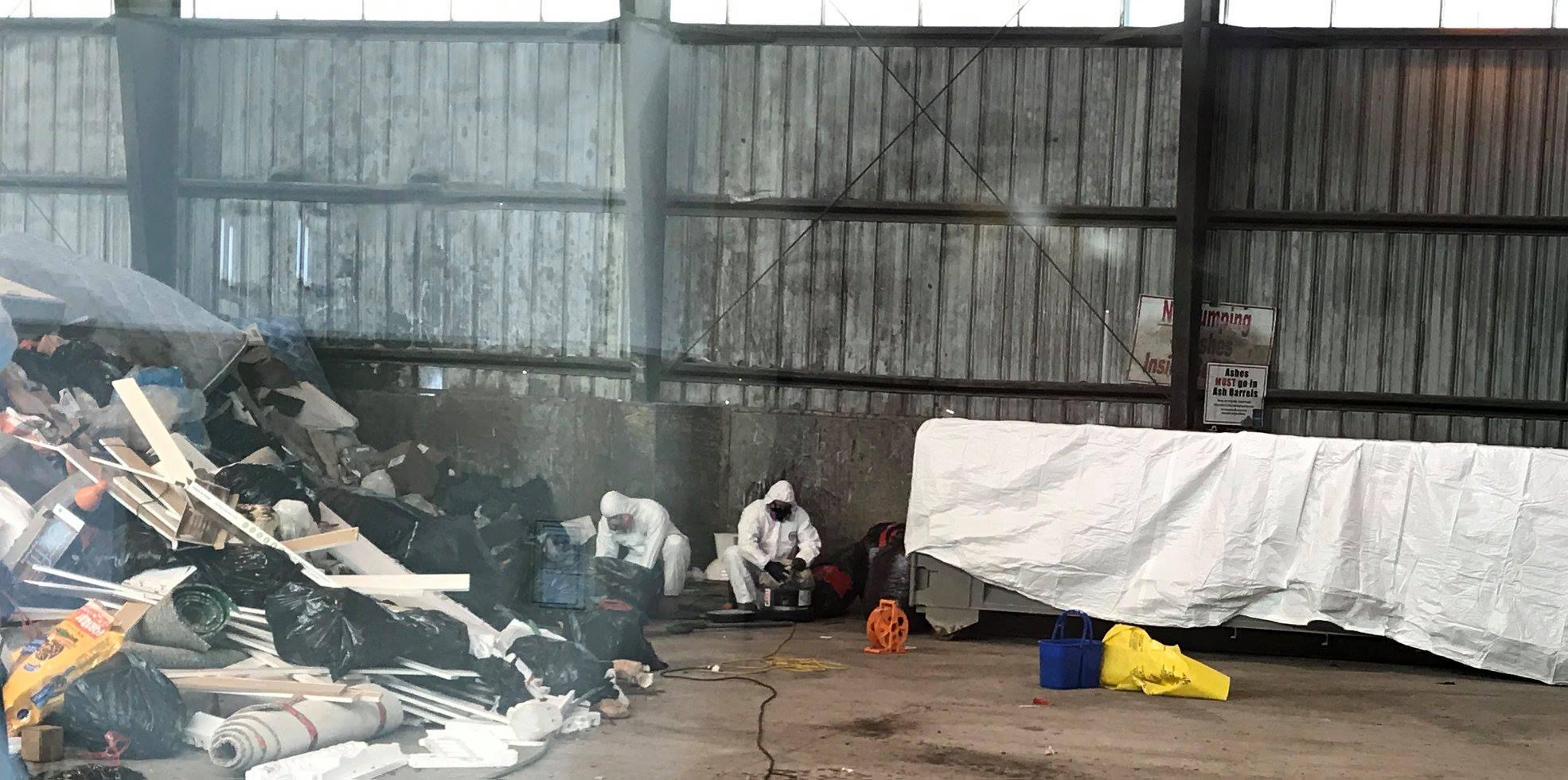 RDEK cleaning up asbestos left at Cranbrook transfer station