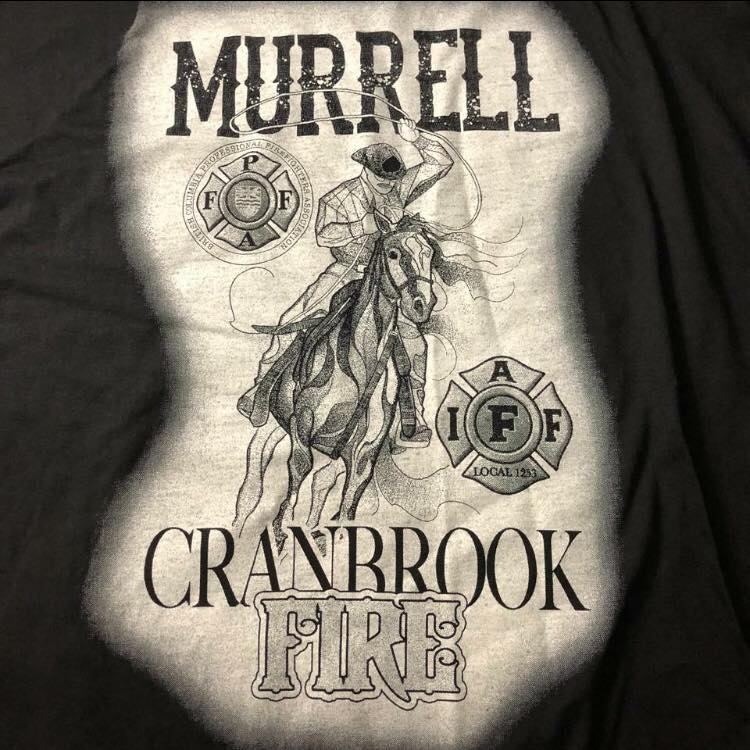 Cranbrook fire fighter memorial shirts to benefit burn victims