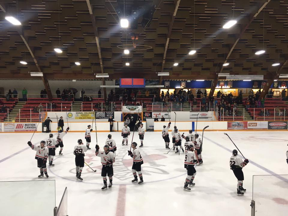 KIJHL: Dynamiters blank Leafs, earn 3-2 series lead