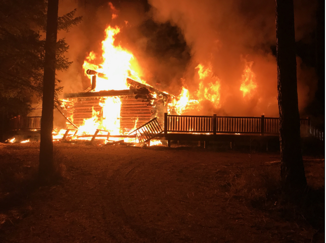 No injuries after fire destroys Jaffray home