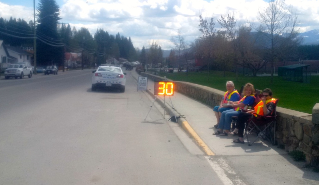 Kimberley Speed Watch Program back on city streets