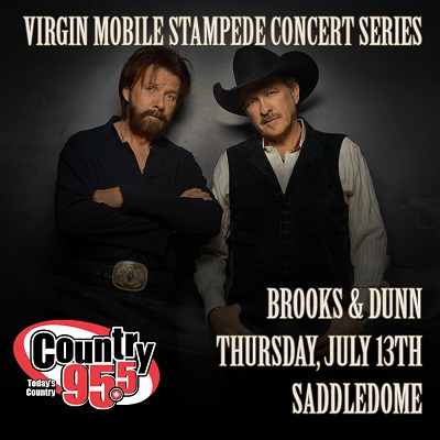 Brooks & Dunn Coming to Calgary Stampede