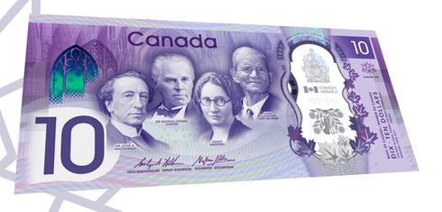 Canada's New $10 Bill!