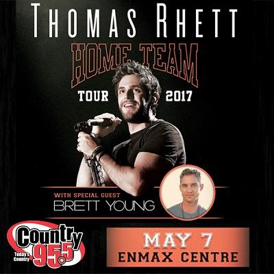 Thomas Rhett VIP Winner!