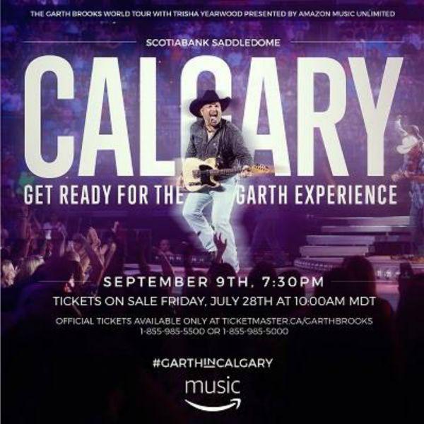Garth Called!!!