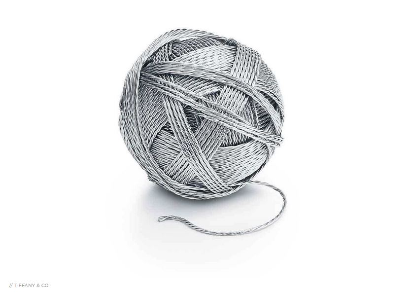 Tiffany & Co. Want You To Buy a $9,000 Ball of Yarn