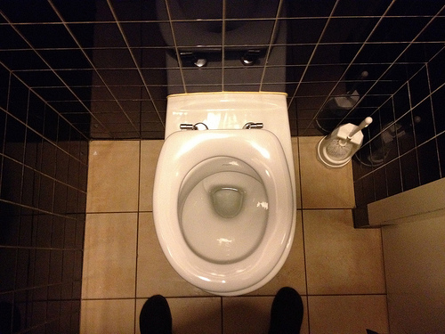 Your toilet struggle could be real...because of this!