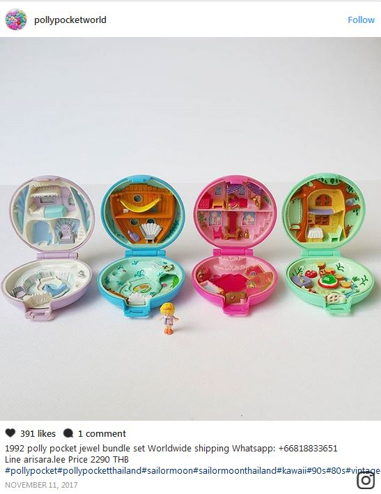Polly Pockets Are Selling For More Than Some Cars On Ebay