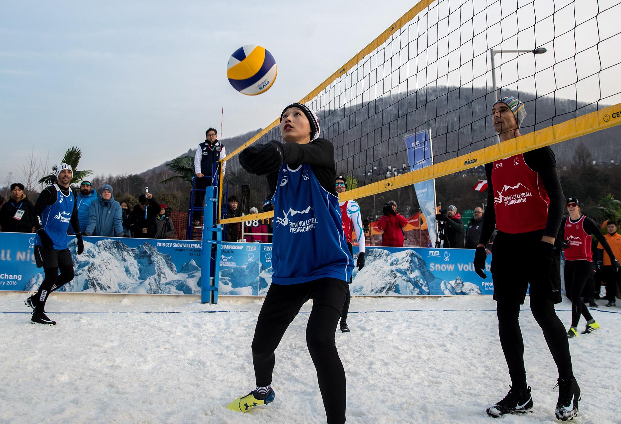 Volleyball at Both Olympics