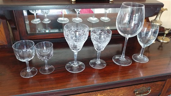 Study Finds Wine Glasses Are Growing