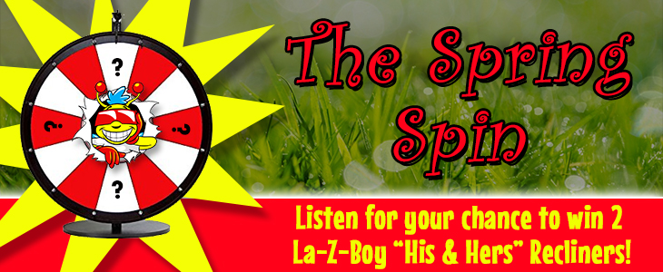 Listen to Win – The Spring Spin