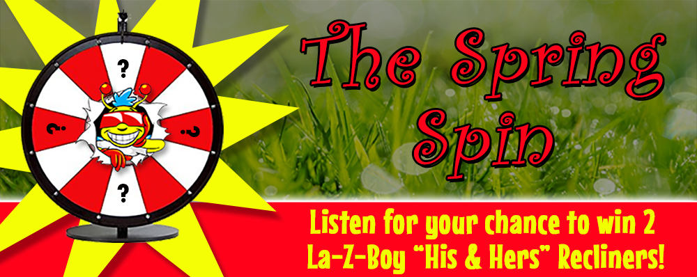 Feature: http://www.b100.ca/spring-spin/