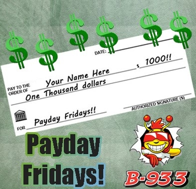 ICYMI - Here's our first Payday Friday winner!