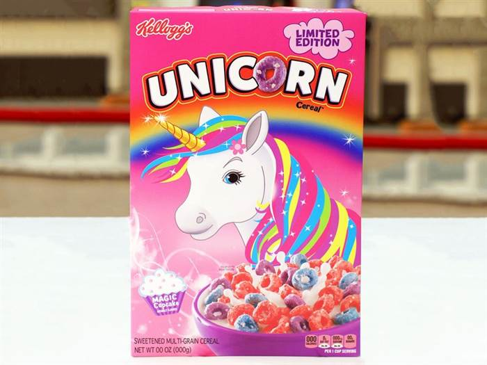 Unicorn Cereal is REAL & the taste is perfectly magical!