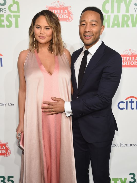 Chrissy Teigen, John Legend Welcome Baby Boy