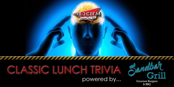 Listen to Win – Classic Lunch Trivia