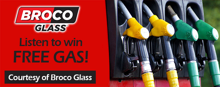 98.3 CIFM AND BROCO GLASS PRESENT THE FREE GAS GIVEAWAY