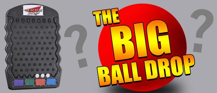 THE BIG BALL DROP