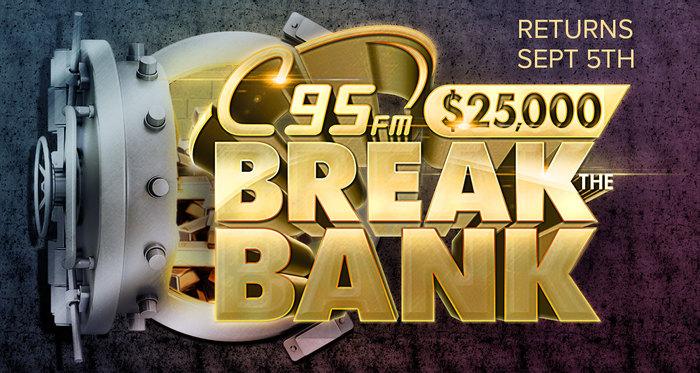 C95's $25,000 Break the Bank