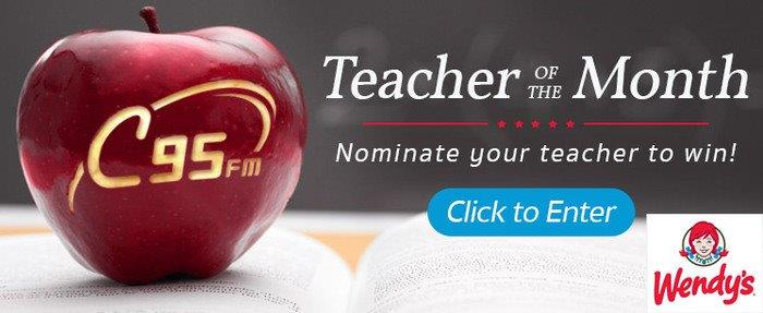 Feature: http://www.c95.com/teacher-of-the-month-2/