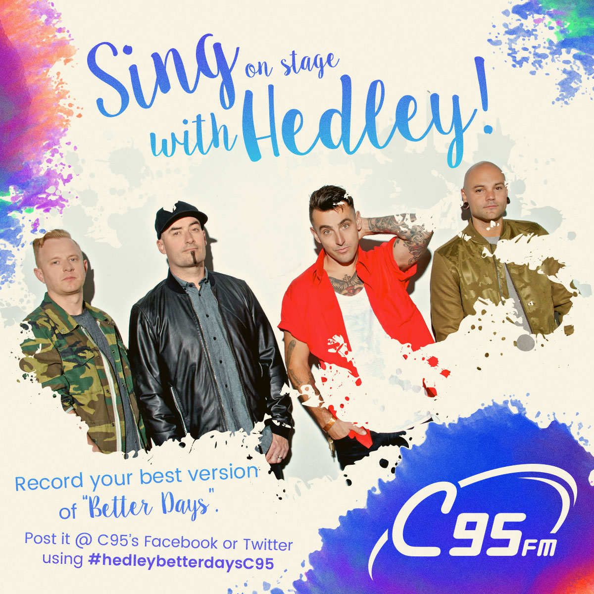 Sing a Duet on Stage with Hedley