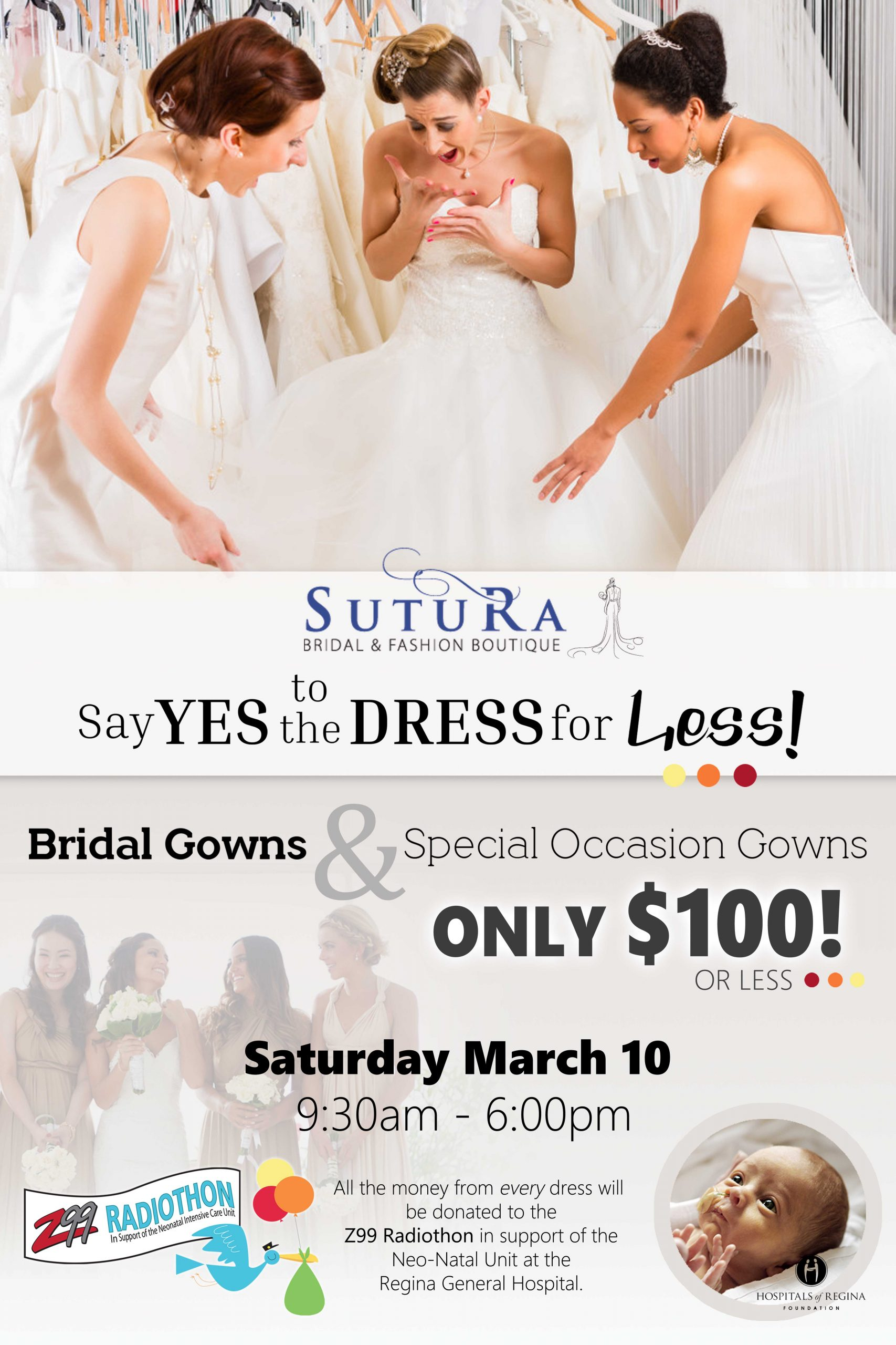Say Yes to the Dress for Less